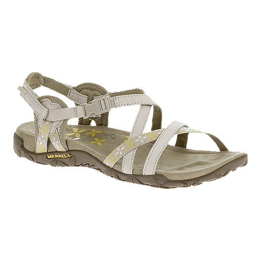 838f6f7ea49 Merrell Women s Terran Lattice Sandals - Silver