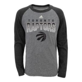 Toronto Raptors Team Pride L/S Youth Raglan Tee