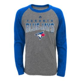 Toronto Blue Jays Team Pride Long Sleeve Raglan Youth Tee