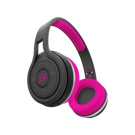 SMS Audio Sport Wireless On-Ear Headphones - Pink