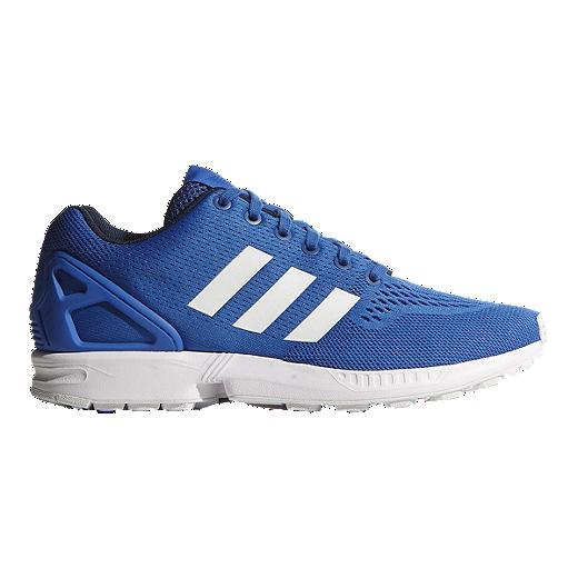 new style f7cb0 9fe1a adidas Men's ZX Flux (EM) Shoes - Blue/White | Sport Chek