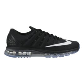 Nike Men's Air Max 2016 Running Shoes - Black/White