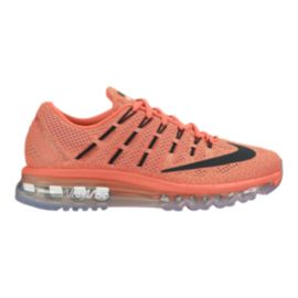 Nike Women's Air Max 2016 Running Shoes - Orange/Black