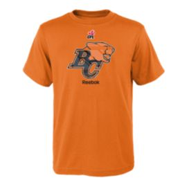 BC Lions Power Grid Logo Child Tee
