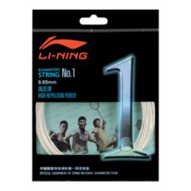 Li Ning Pro Badminton String No 1 - White