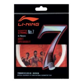 Li Ning Pro Badminton String No 7 - White
