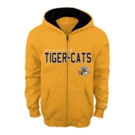 Hamilton Tiger Cats Little Kids' Stated Full Zip Hoodie