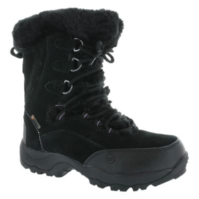 ST MORITZ 200 WP II - Winter boots - black/clover