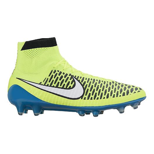 dcd08e81fce6 Nike Women s Magista Obra FG WC Outdoor Soccer Cleats - Yellow Blue ...