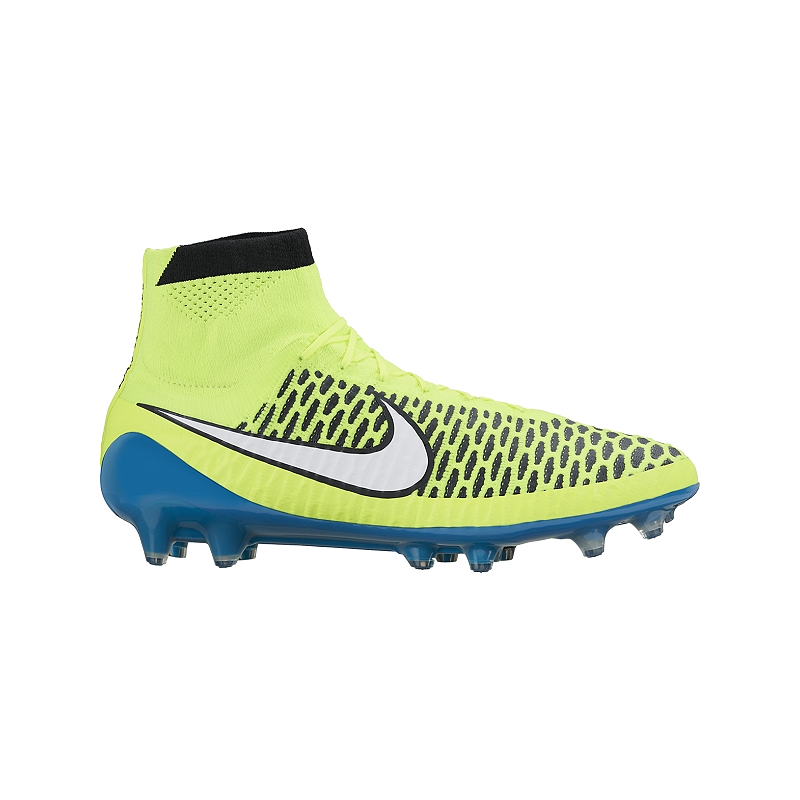 523ab0354e13 Nike Women s Magista Obra FG WC Outdoor Soccer Cleats - Yellow Blue ...