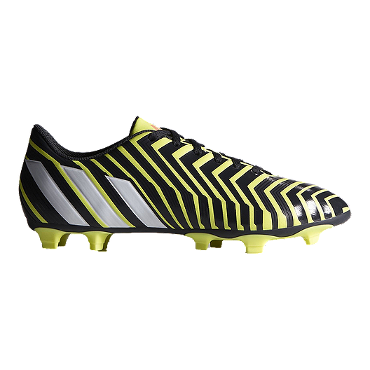 1f0b88f9d33f adidas Men s Predito Instinct FG Outdoors Soccer Cleats - Black Lime Green