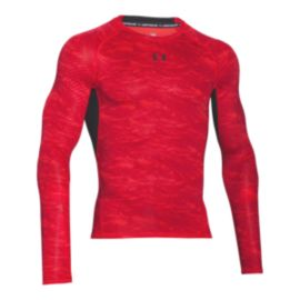 Under Armour Printed Men's Compression Long Sleeve Top