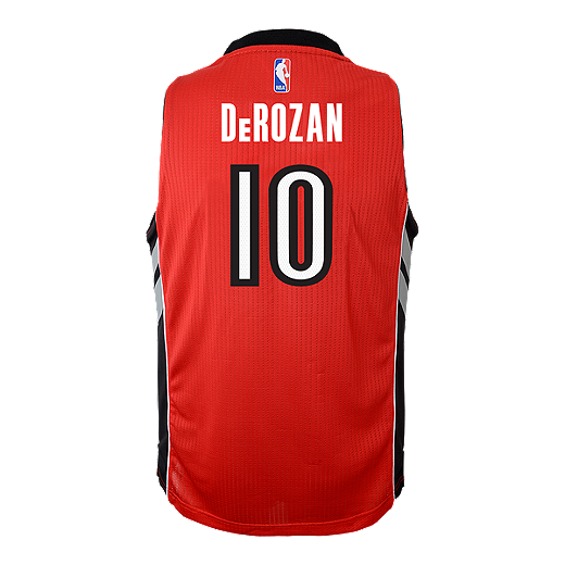 12612d82f Toronto Raptors DeMar DeRozan Kids  Away Youth Basketball Jersey - RED