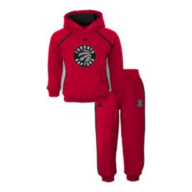 Toronto Raptors Baby Classic Fan Fleece Hoodie & Pants Set
