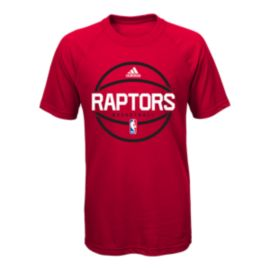 Toronto Raptors Practice Wear Ultimate Youth Tee - Red