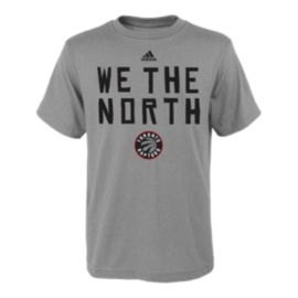 Toronto Raptors We The North Youth Cotton Tee - Gray