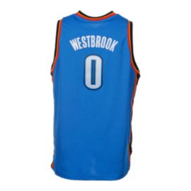Oklahoma City Thunder Russell Westbrook Kids' Away Youth Basketball Jersey