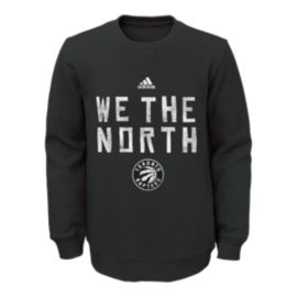 Toronto Raptors We The North Varsity Youth Fleece Crew Sweater