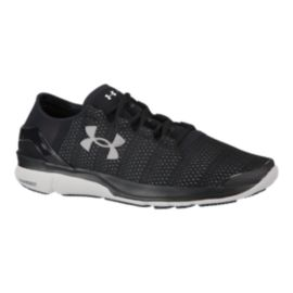 Under Armour Men's SpeedForm Apollo 2 Running Shoes - Black/White