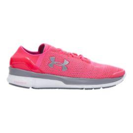 Under Armour Women's SpeedForm® Apollo 2 Running Shoes - Pink/Silver
