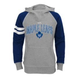 Toronto Maple Leafs Girls' Diamond Etched Cowl Hoodie