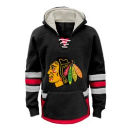 Chicago Blackhawks Kids' CCM Retro Skate Hoodie