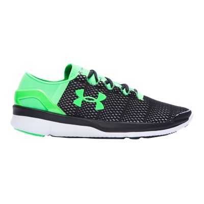 Under Armour Kids' SpeedForm Apollo 2 Grade School Running Shoes - Blue/White/Green