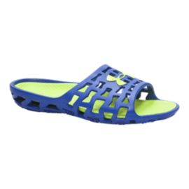 Under Armour Men's Mavrix SL Sandals - Blue/Yellow