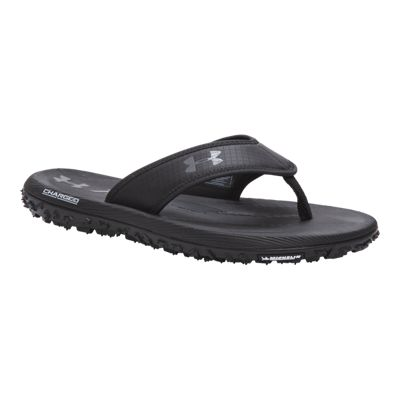 Under Armour Men's Fat Tire Sandals - Black/Graphite