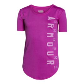 Under Armour Girls' Your Favourite Tech T Shirt