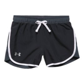 Under Armour Girls' Fast Lane Woven Shorts