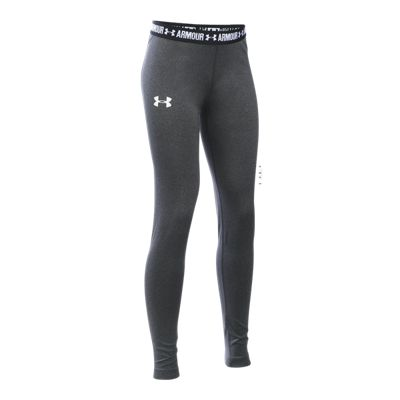 Under Armour Girls' Solid HeatGear Armour Leggings