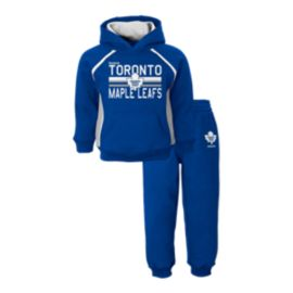 Toronto Maple Leafs Baby Classic Fan Fleece Hoodie & Pants Set