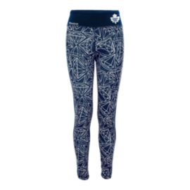 Toronto Maple Leafs Diamond Girls' Leggings