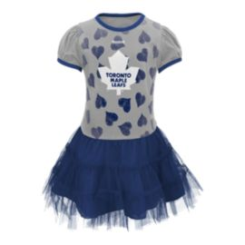 Toronto Maple Leafs Little Kids' Love To Dance Tutu Dress
