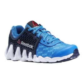 Reebok Kids' ZigTech Big-N-Fast  Grade School Running Shoes - Blue/Indigo/White