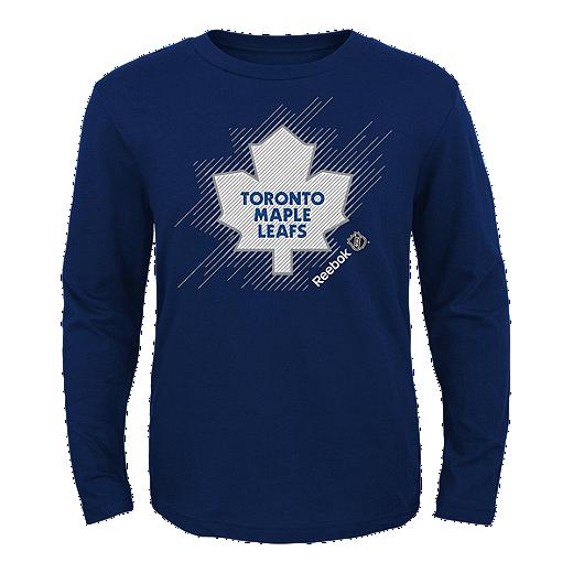 low priced f6eea c30e6 Toronto Maple Leafs Kids' TNT Frost Long Sleeve T Shirt ...