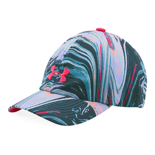 cb5f196b2249e Under Armour Printed Armour Girls  Cap