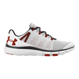 Under Armour Men's Limitless Training Shoes - White/Red