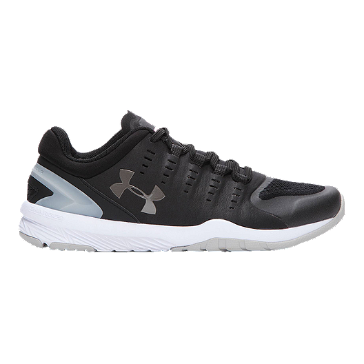 9963aa7b1da5 Under Armour Women s Charged Stunner Training Shoes - Black Silver White