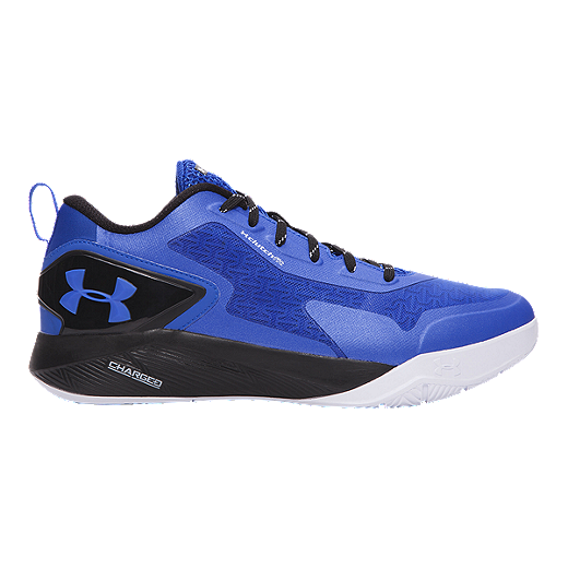 new products e6c07 e1d9d Under Armour Men's ClutchFit Drive 2 Low Basketball Shoes - Blue/Black