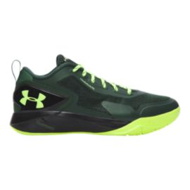 Under Armour Men's ClutchFit Drive 2 Low Basketball Shoes - Green/Black