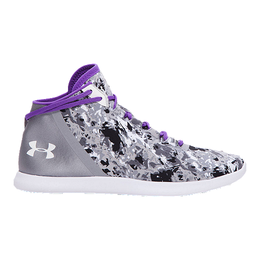 the latest 49c8a f1271 Under Armour Women's SpeedForm StudioLux Mid Training Shoes -  Black/White/Purple