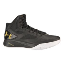 Under Armour Men's ClutchFit Drive 2 Basketball Shoes - Black/Gold