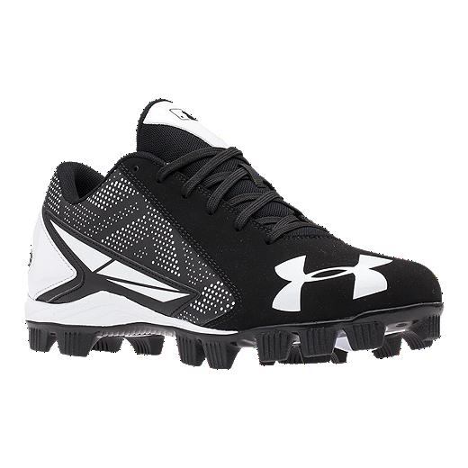 abda8a5f3aef Under Armour Men's Leadoff Low RM Baseball Cleats - Black/White   Sport Chek