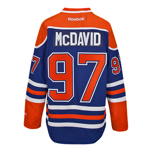 e66eb58f0 Edmonton Oilers Connor McDavid Premier Home Hockey Jersey | Sport Chek