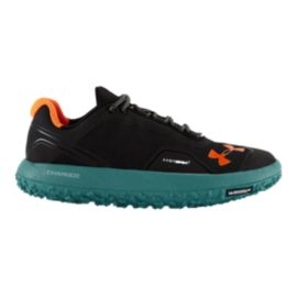 Under Armour Fat Tire Men's Low Trail-Running Shoes - Black/Blue