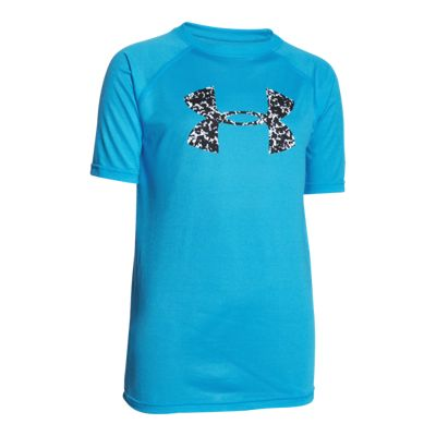 Under Armour Boys' Big Logo Tech Shirt