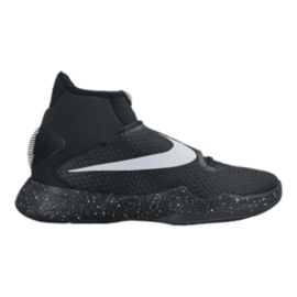 Nike Men's HyperRev 2016 Basketball Shoes - Black/Silver