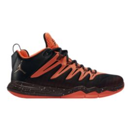 Nike Men's Jordan CP3.IX Basketball Shoes - Black/Orange/Gold